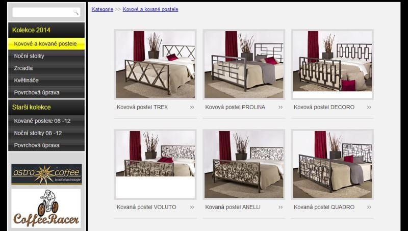 Tvorba webových stránek s katalogem