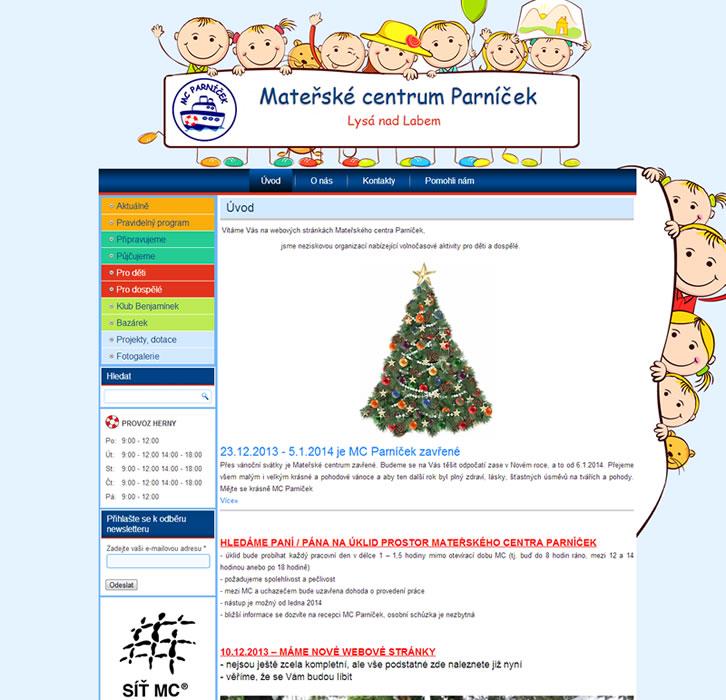Tvorba webových stránek pro ZŠ, MŠ a centra
