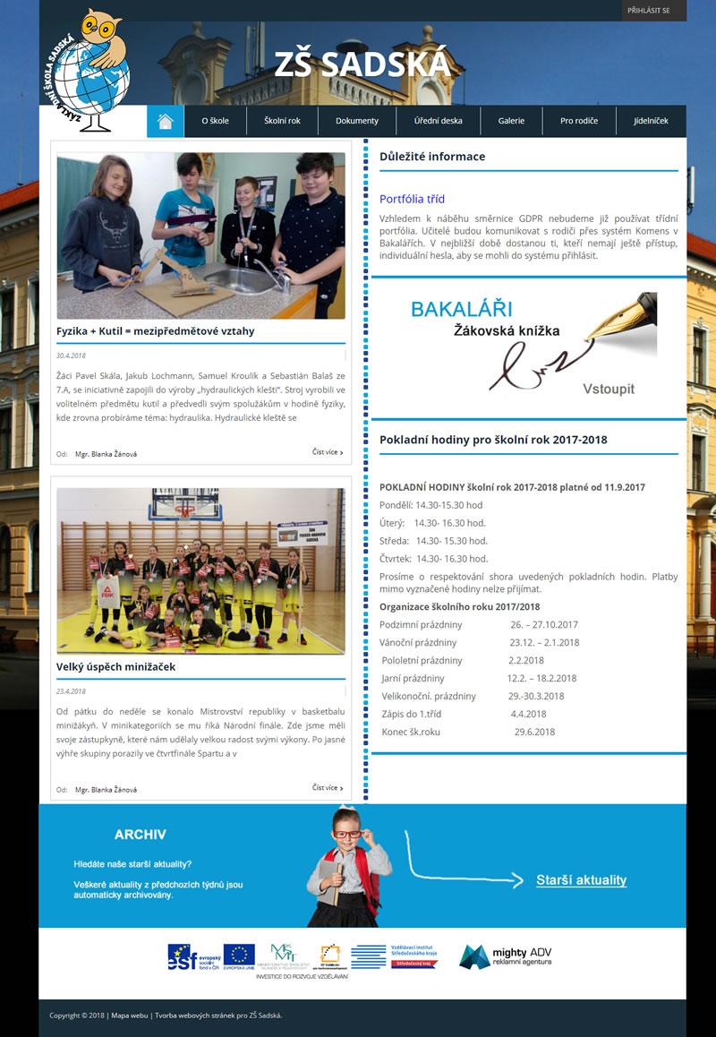 Základní škola Sadská